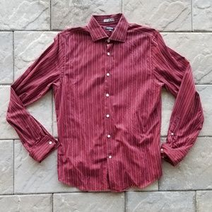 Nice deep red Express shirt
